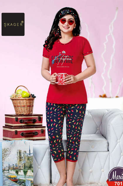 Skager Mexico Vol 7 Night Wear Wholesale Catalog 4 Pcs
