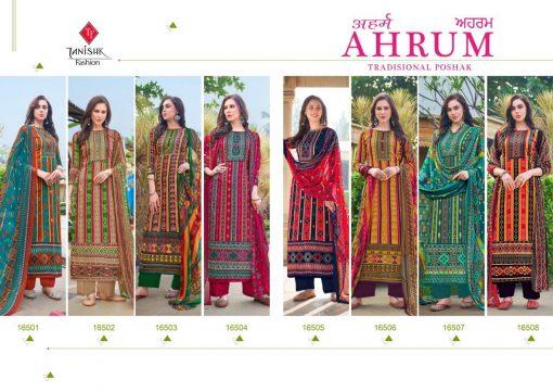 Tanishk Ahrum Salwar Suit Wholesale Catalog 8 Pcs 11 510x361 - Tanishk Ahrum Salwar Suit Wholesale Catalog 8 Pcs