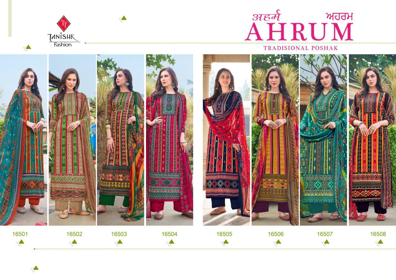Tanishk Ahrum Salwar Suit Wholesale Catalog 8 Pcs 11 - Tanishk Ahrum Salwar Suit Wholesale Catalog 8 Pcs
