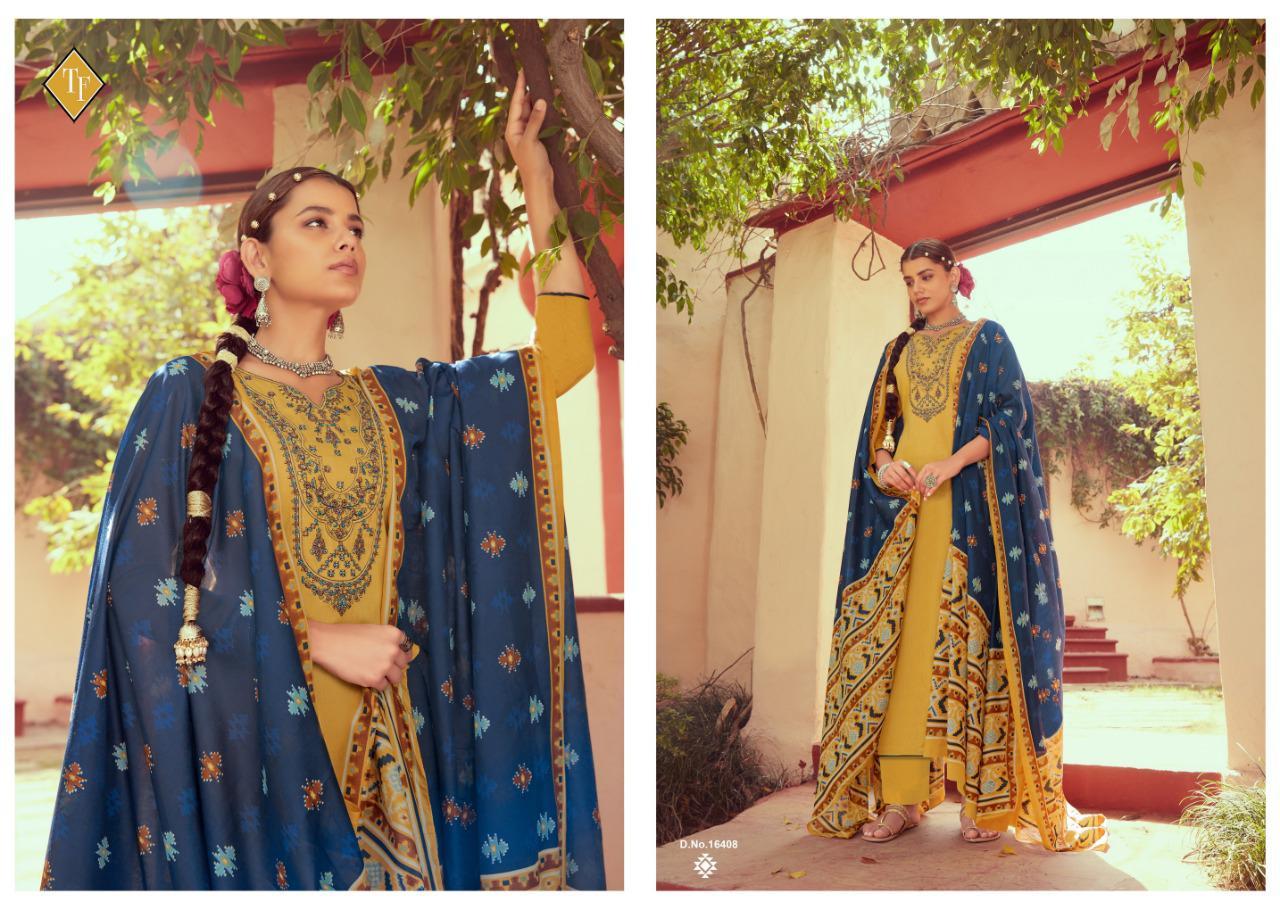 Tanishk Ikrat Salwar Suit Wholesale Catalog 8 Pcs 12 - Tanishk Ikrat Salwar Suit Wholesale Catalog 8 Pcs