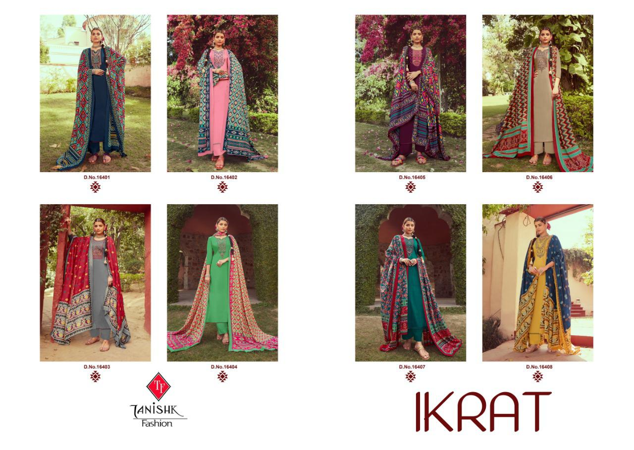 Tanishk Ikrat Salwar Suit Wholesale Catalog 8 Pcs 15 - Tanishk Ikrat Salwar Suit Wholesale Catalog 8 Pcs
