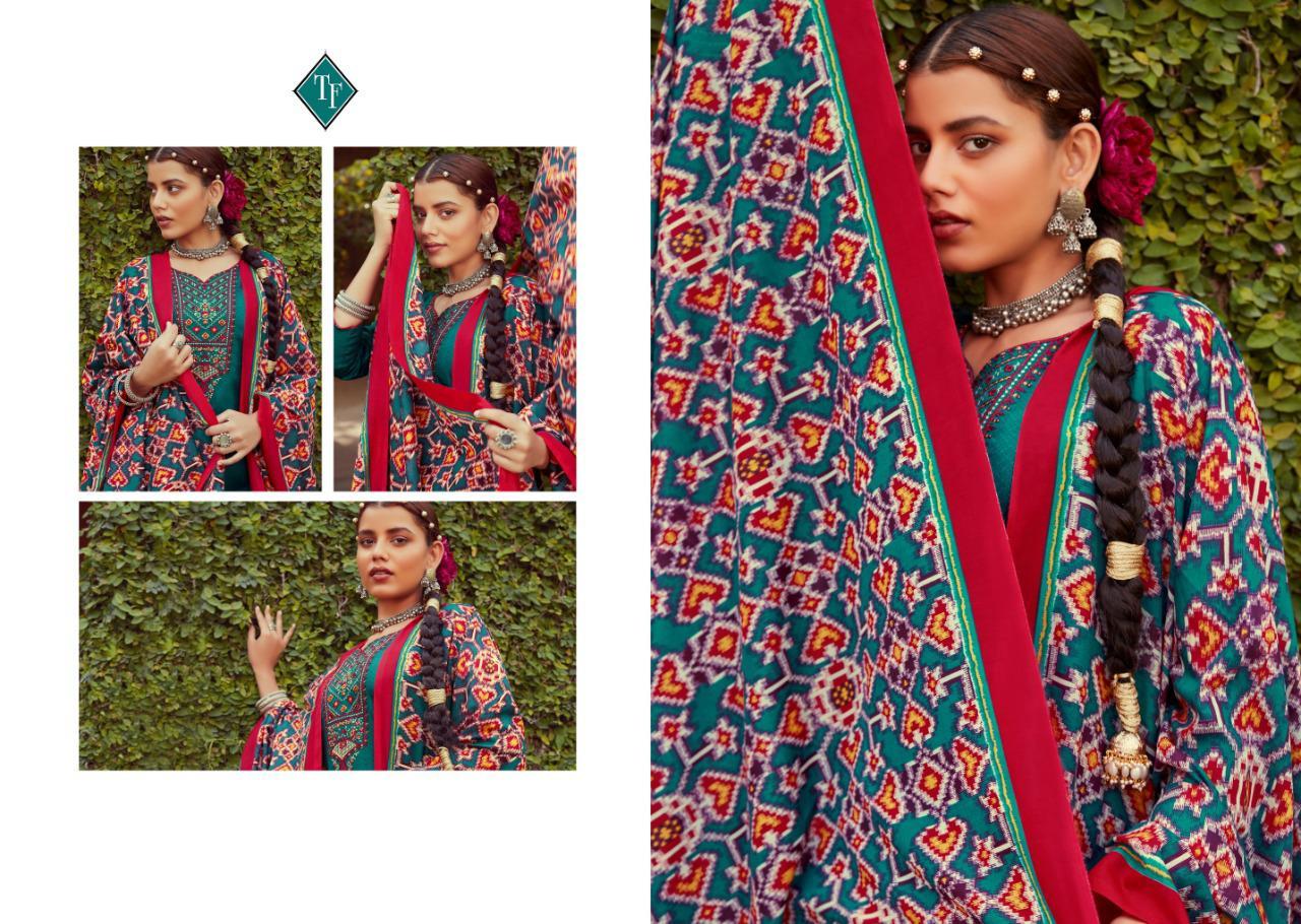 Tanishk Ikrat Salwar Suit Wholesale Catalog 8 Pcs 9 - Tanishk Ikrat Salwar Suit Wholesale Catalog 8 Pcs
