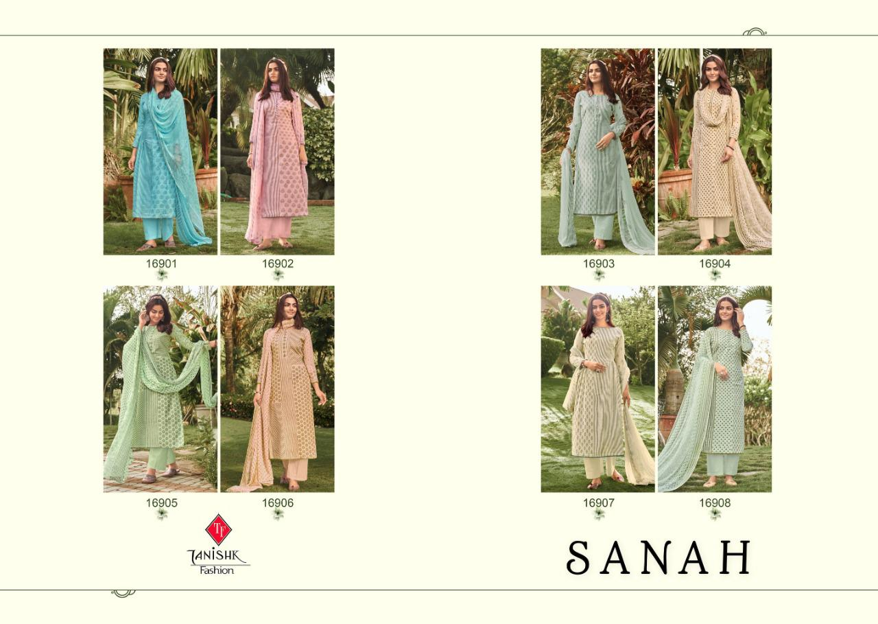 Tanishk Sanah 2021 Salwar Suit Wholesale Catalog 8 Pcs 10 - Tanishk Sanah 2021 Salwar Suit Wholesale Catalog 8 Pcs
