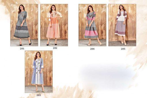 Tejaswee Limelight Vol 1 Kurti Wholesale Catalog 5 Pcs 6 510x340 - Tejaswee Limelight Vol 1 Kurti Wholesale Catalog 5 Pcs