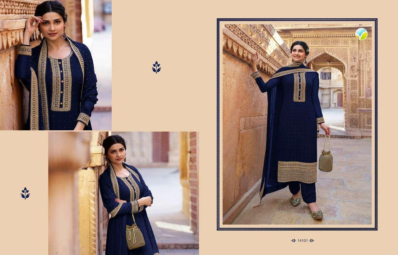 Vinay Kaseesh Andaaz Prachi Desai Salwar Suit Wholesale Catalog 9 Pcs 12 - Vinay Kaseesh Andaaz Prachi Desai Salwar Suit Wholesale Catalog 9 Pcs
