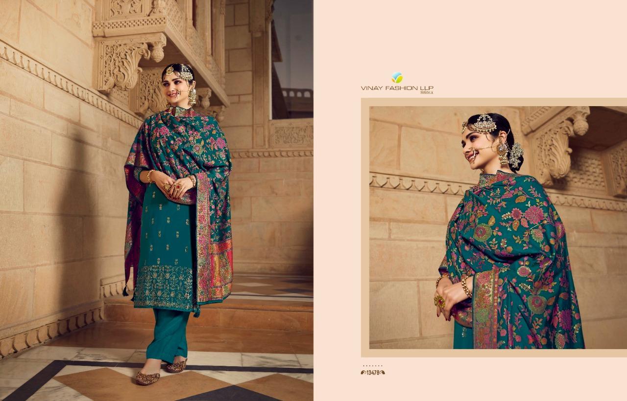 Vinay Kaseesh Bunaai Prachi Desai Salwar Suit Wholesale Catalog 8 Pcs 11 - Vinay Kaseesh Bunaai Prachi Desai Salwar Suit Wholesale Catalog 8 Pcs