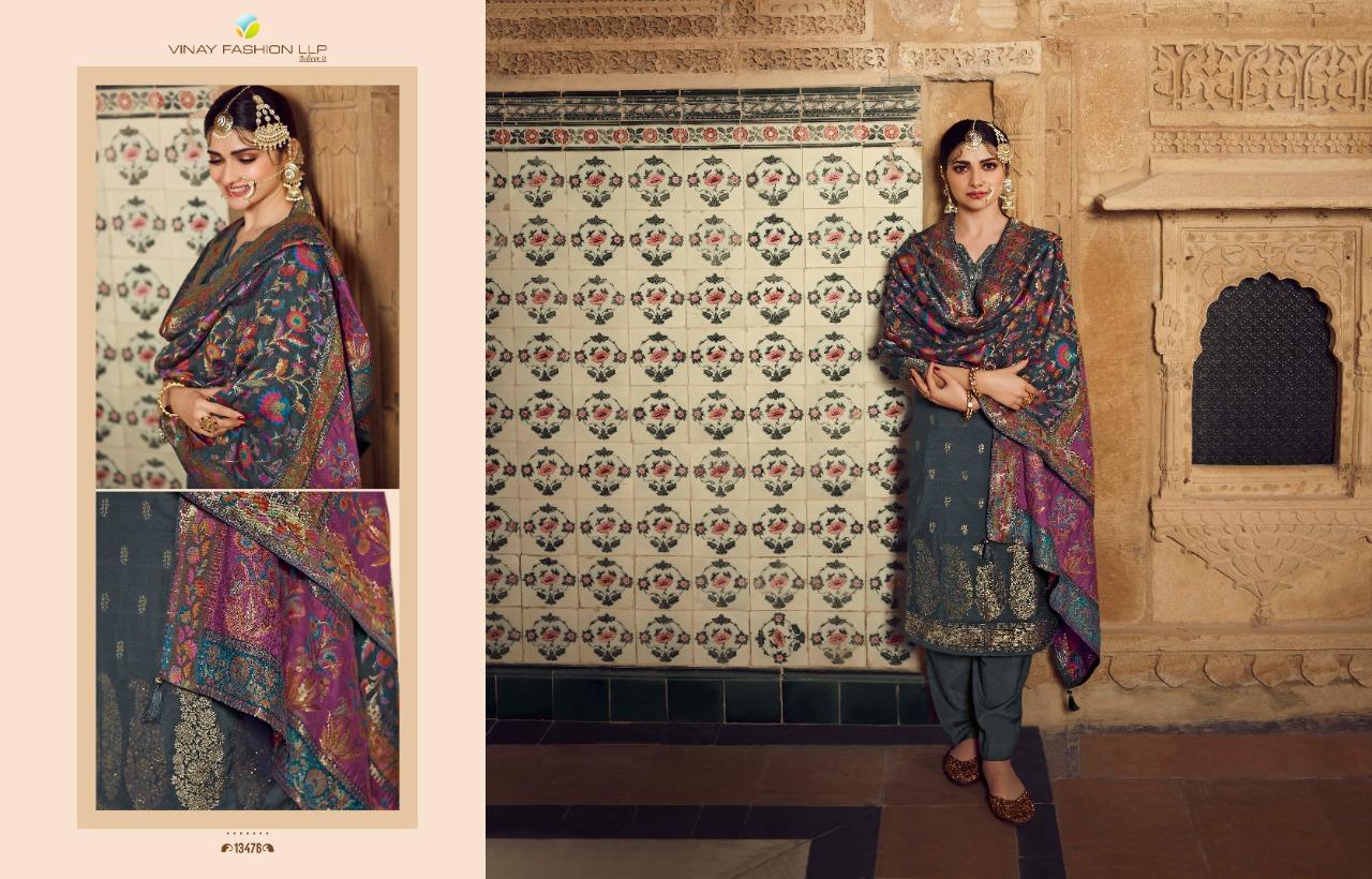 Vinay Kaseesh Bunaai Prachi Desai Salwar Suit Wholesale Catalog 8 Pcs 12 - Vinay Kaseesh Bunaai Prachi Desai Salwar Suit Wholesale Catalog 8 Pcs