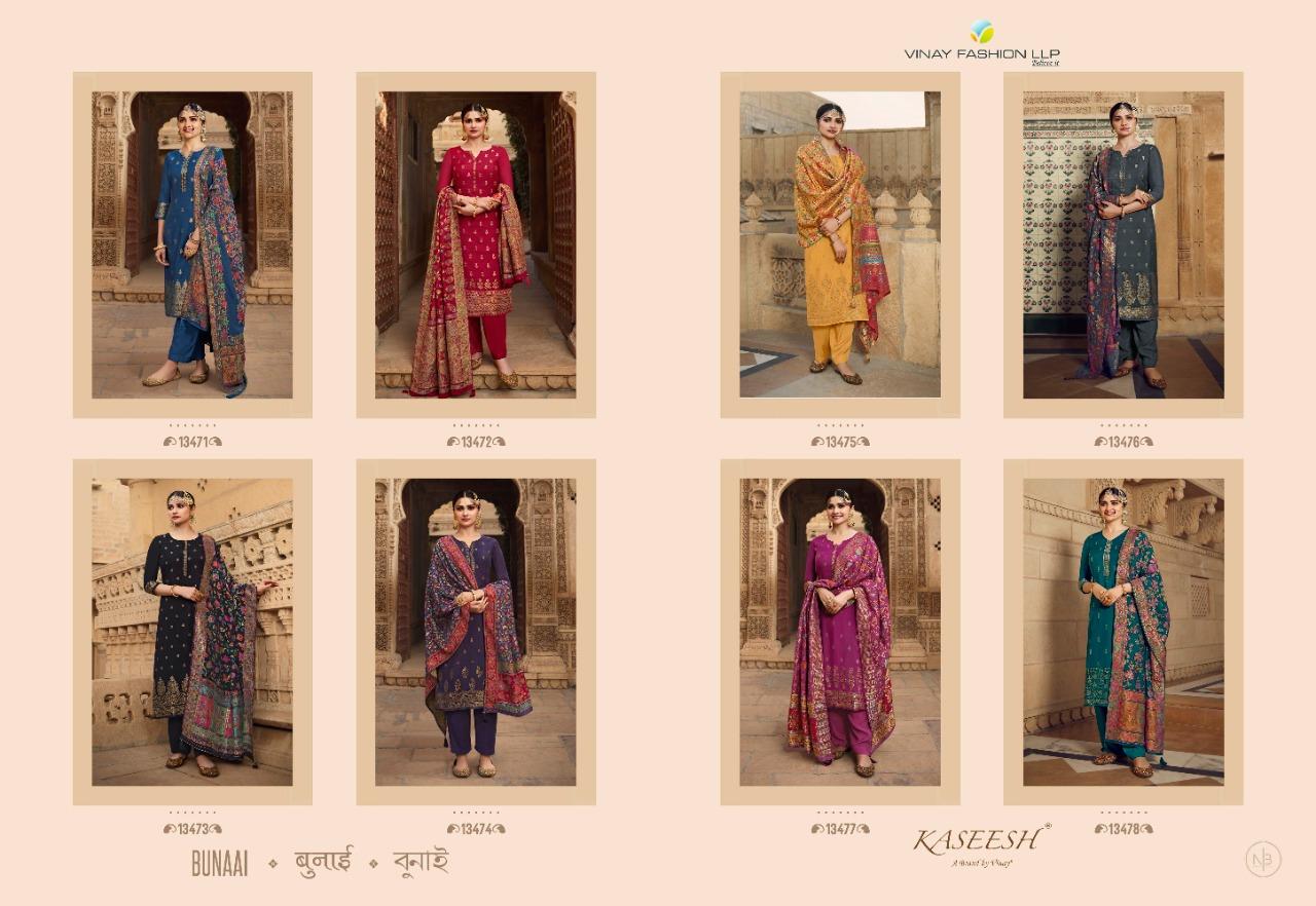 Vinay Kaseesh Bunaai Prachi Desai Salwar Suit Wholesale Catalog 8 Pcs 16 - Vinay Kaseesh Bunaai Prachi Desai Salwar Suit Wholesale Catalog 8 Pcs
