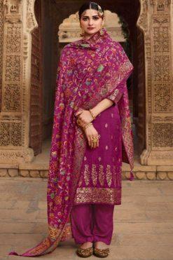 Vinay Kaseesh Bunaai Prachi Desai Salwar Suit Wholesale Catalog 8 Pcs