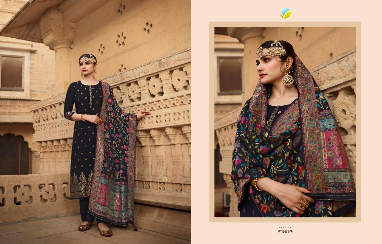 Vinay Kaseesh Bunaai Prachi Desai Salwar Suit Wholesale Catalog 8 Pcs 5 - Vinay Kaseesh Bunaai Prachi Desai Salwar Suit Wholesale Catalog 8 Pcs
