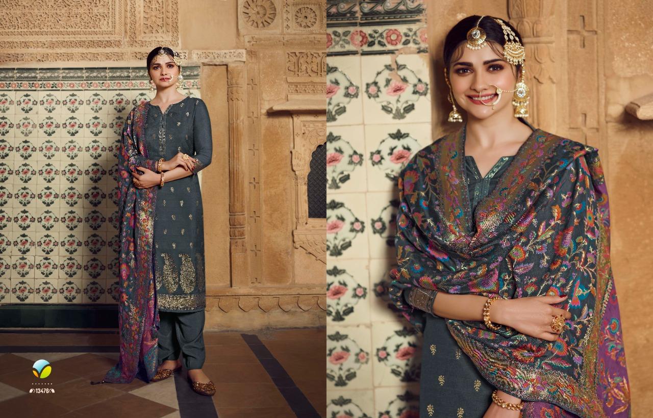 Vinay Kaseesh Bunaai Prachi Desai Salwar Suit Wholesale Catalog 8 Pcs 7 - Vinay Kaseesh Bunaai Prachi Desai Salwar Suit Wholesale Catalog 8 Pcs