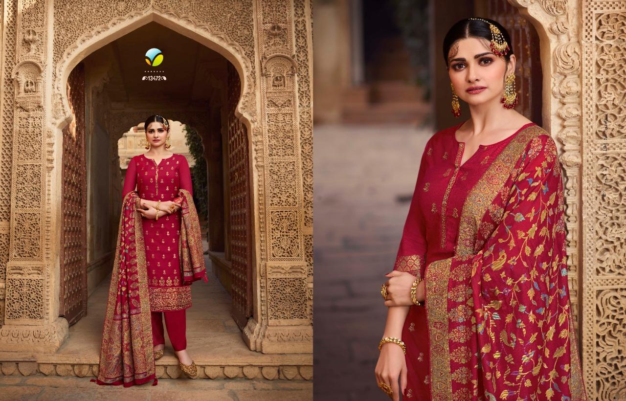Vinay Kaseesh Bunaai Prachi Desai Salwar Suit Wholesale Catalog 8 Pcs 9 - Vinay Kaseesh Bunaai Prachi Desai Salwar Suit Wholesale Catalog 8 Pcs