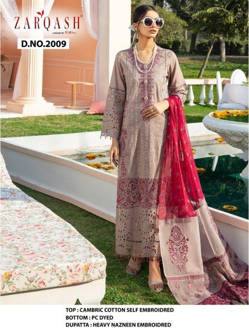 Zarqash Nureh Luxury Lawn by Khayyira Salwar Suit Wholesale Catalog 4 Pcs 3 510x680 - Zarqash Nureh Luxury Lawn by Khayyira Salwar Suit Wholesale Catalog 4 Pcs