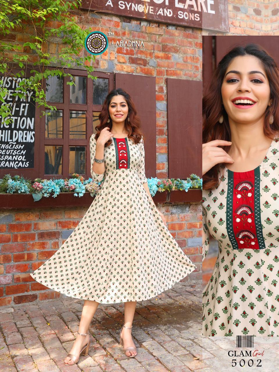 Aradhna Glam Girl Vol 5 Kurti Wholesale Catalog 12 Pcs 16 - Aradhna Glam Girl Vol 5 Kurti Wholesale Catalog 12 Pcs