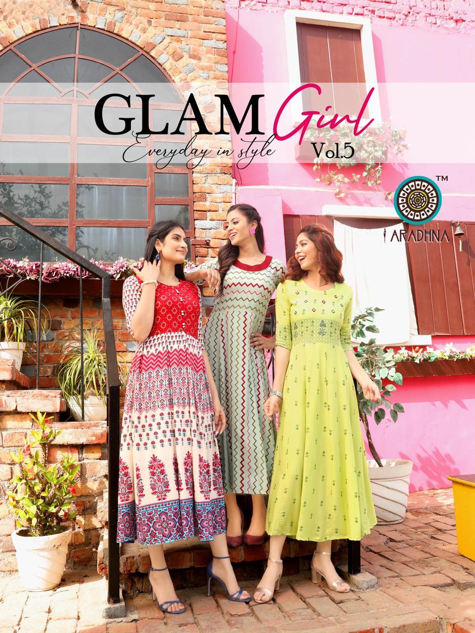 Aradhna Glam Girl Vol 5 Kurti Wholesale Catalog 12 Pcs 17 - Aradhna Glam Girl Vol 5 Kurti Wholesale Catalog 12 Pcs