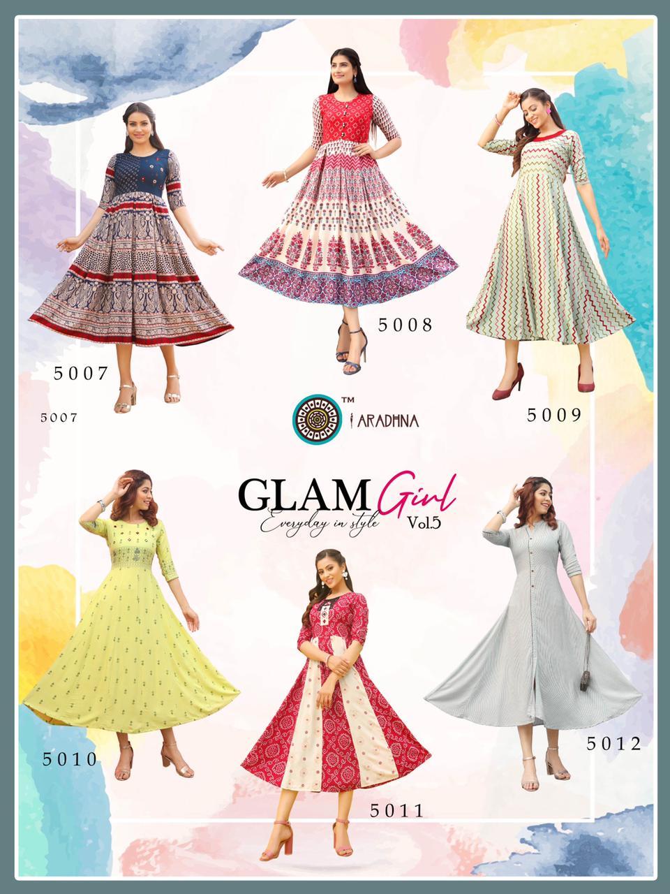 Aradhna Glam Girl Vol 5 Kurti Wholesale Catalog 12 Pcs 19 - Aradhna Glam Girl Vol 5 Kurti Wholesale Catalog 12 Pcs