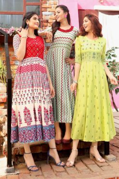 Aradhna Glam Girl Vol 5 Kurti Wholesale Catalog 12 Pcs