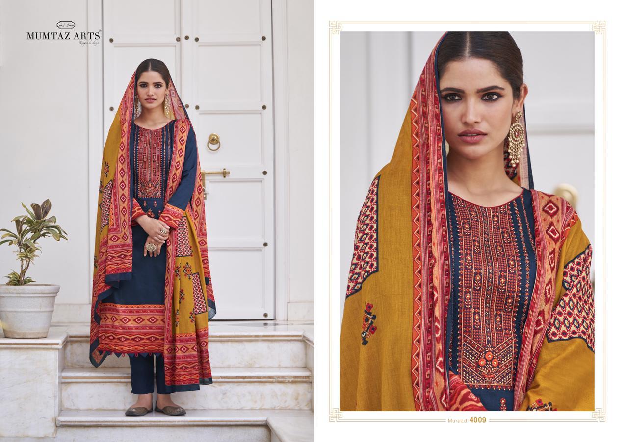 Mumtaz Arts Muraad Salwar Suit Wholesale Catalog 10 Pcs 13 - Mumtaz Arts Muraad Salwar Suit Wholesale Catalog 10 Pcs