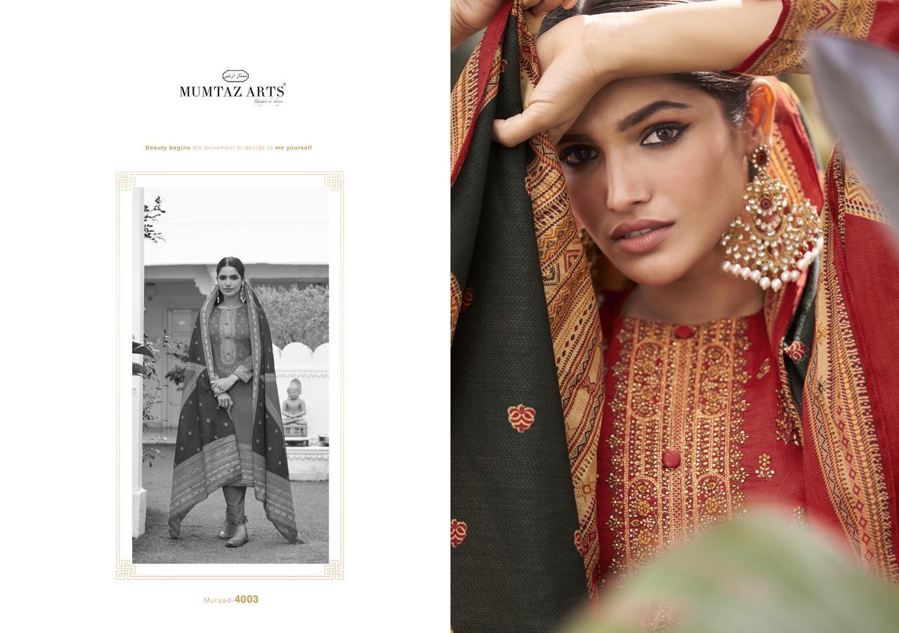 Mumtaz Arts Muraad Salwar Suit Wholesale Catalog 10 Pcs 4 - Mumtaz Arts Muraad Salwar Suit Wholesale Catalog 10 Pcs