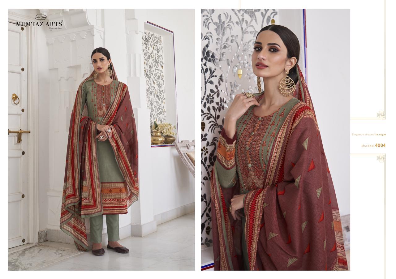 Mumtaz Arts Muraad Salwar Suit Wholesale Catalog 10 Pcs 8 - Mumtaz Arts Muraad Salwar Suit Wholesale Catalog 10 Pcs