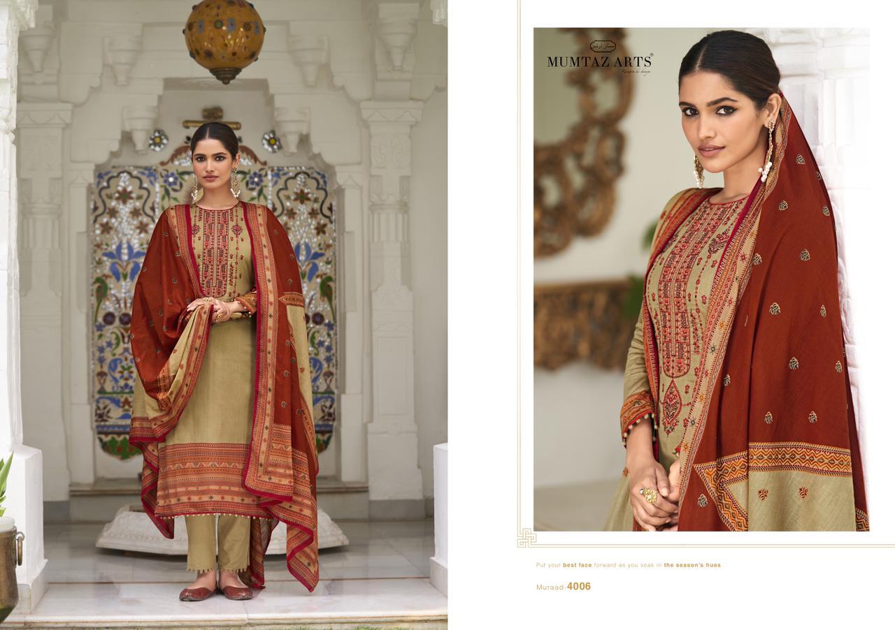 Mumtaz Arts Muraad Salwar Suit Wholesale Catalog 10 Pcs 9 - Mumtaz Arts Muraad Salwar Suit Wholesale Catalog 10 Pcs