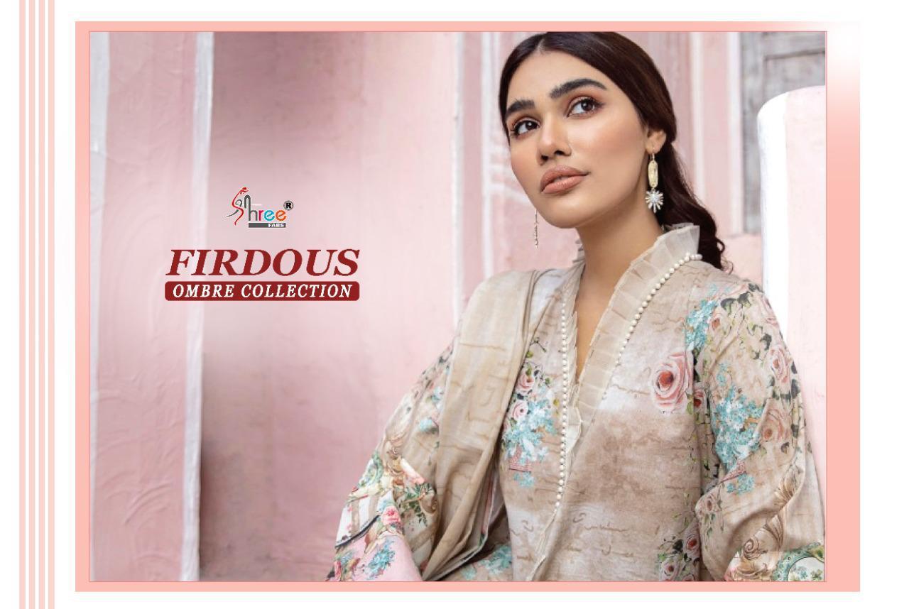 Shree Fabs Firdous Ombre Collection Salwar Suit Wholesale Catalog 10 Pcs 11 - Shree Fabs Firdous Ombre Collection Salwar Suit Wholesale Catalog 10 Pcs