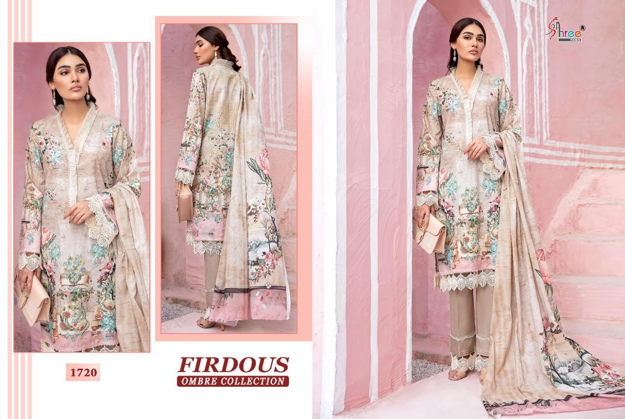 Shree Fabs Firdous Ombre Collection Salwar Suit Wholesale Catalog 10 Pcs 12 - Shree Fabs Firdous Ombre Collection Salwar Suit Wholesale Catalog 10 Pcs