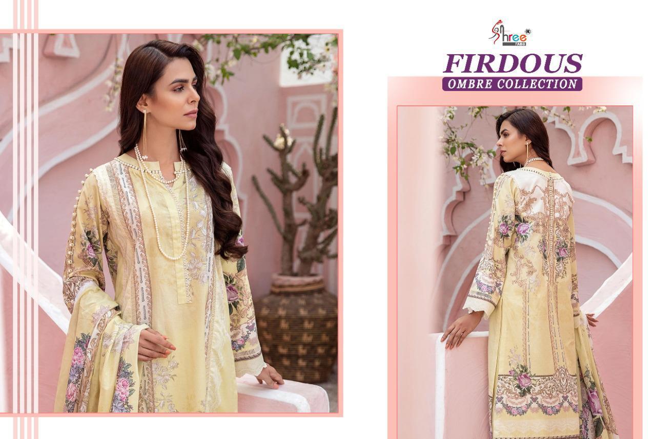 Shree Fabs Firdous Ombre Collection Salwar Suit Wholesale Catalog 10 Pcs 16 - Shree Fabs Firdous Ombre Collection Salwar Suit Wholesale Catalog 10 Pcs
