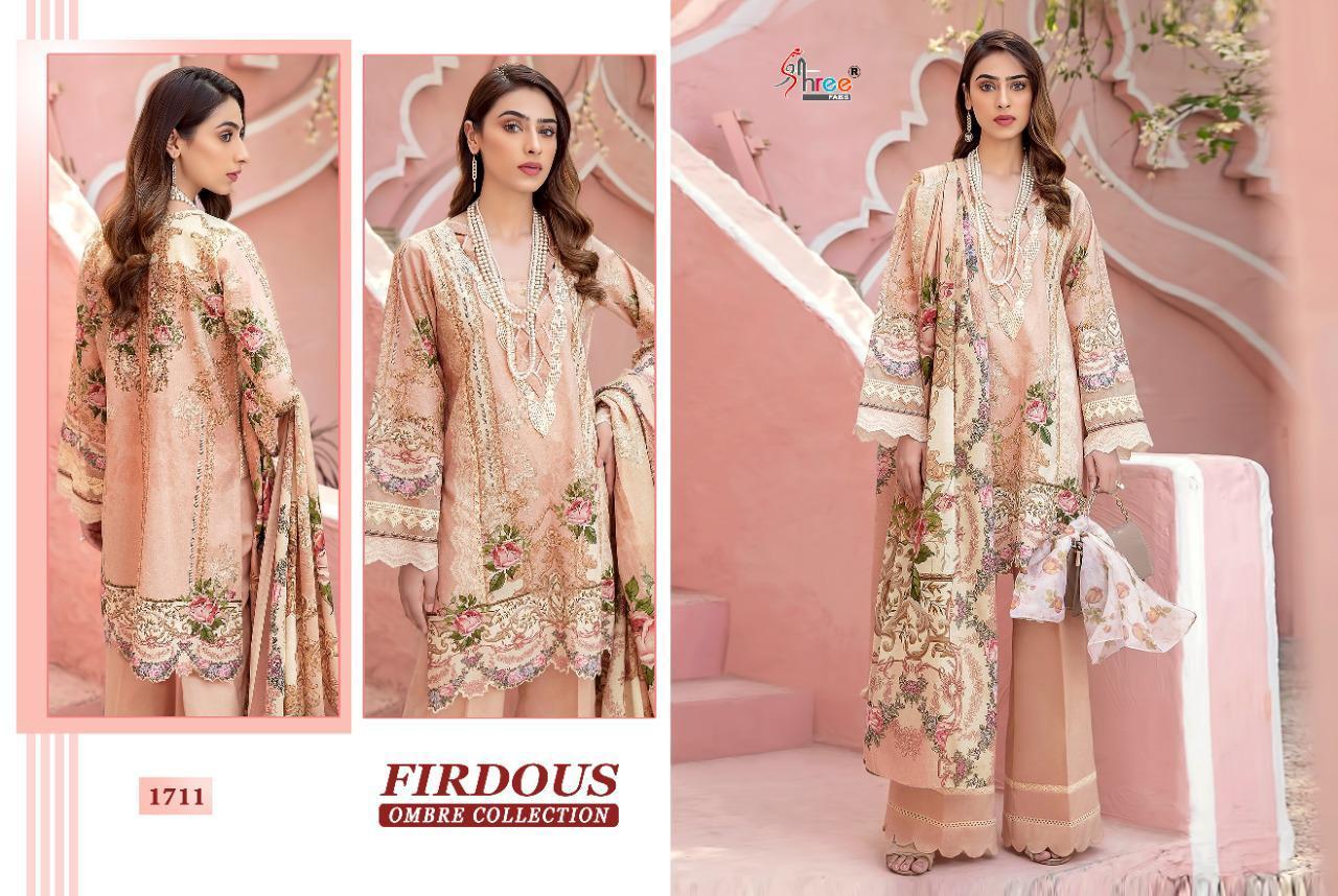 Shree Fabs Firdous Ombre Collection Salwar Suit Wholesale Catalog 10 Pcs 19 - Shree Fabs Firdous Ombre Collection Salwar Suit Wholesale Catalog 10 Pcs