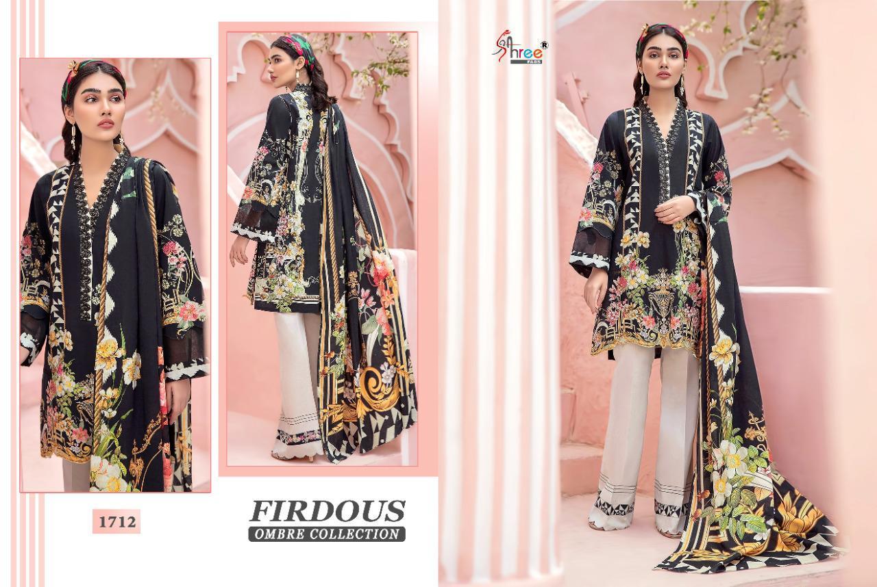 Shree Fabs Firdous Ombre Collection Salwar Suit Wholesale Catalog 10 Pcs 2 - Shree Fabs Firdous Ombre Collection Salwar Suit Wholesale Catalog 10 Pcs