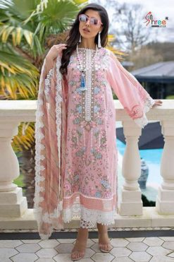 Shree Fabs Sobia Nazir Lawn Collection Vol 2 Salwar Suit Wholesale Catalog 6 Pcs