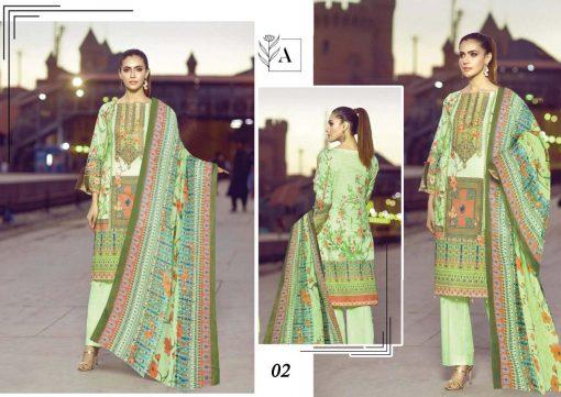 Alizeh Lawn Collection Salwar Suit Wholesale Catalog 10 Pcs 8 510x361 - Alizeh Lawn Collection Salwar Suit Wholesale Catalog 10 Pcs