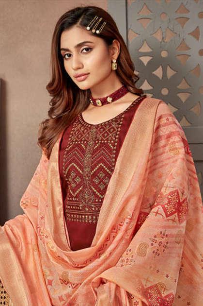 Alok Festive Fusion Salwar Suit Wholesale Catalog 8 Pcs