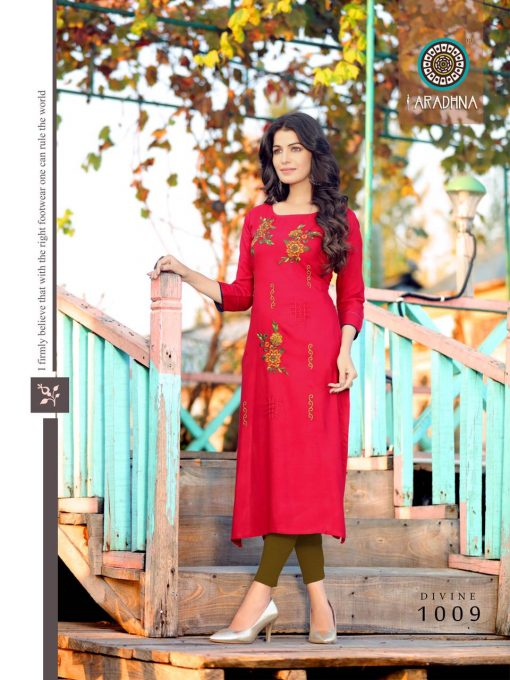 Aradhna Divine Vol 1 Kurti Wholesale Catalog 12 Pcs 14 510x680 - Aradhna Divine Vol 1 Kurti Wholesale Catalog 12 Pcs