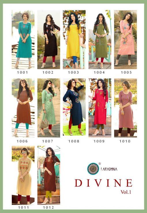 Aradhna Divine Vol 1 Kurti Wholesale Catalog 12 Pcs 16 510x737 - Aradhna Divine Vol 1 Kurti Wholesale Catalog 12 Pcs