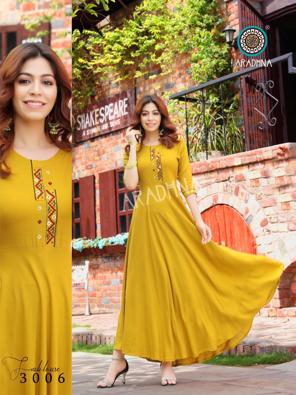 Aradhna Fashion Fabulous Vol 3 Kurti Wholesale Catalog 12 Pcs 14 - Aradhna Fashion Fabulous Vol 3 Kurti Wholesale Catalog 12 Pcs