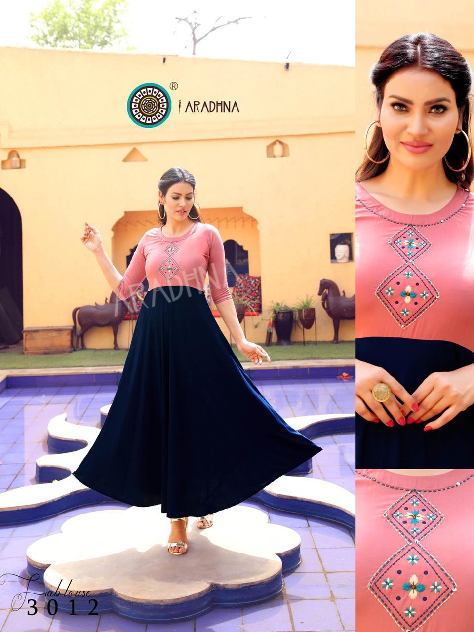 Aradhna Fashion Fabulous Vol 3 Kurti Wholesale Catalog 12 Pcs 16 - Aradhna Fashion Fabulous Vol 3 Kurti Wholesale Catalog 12 Pcs