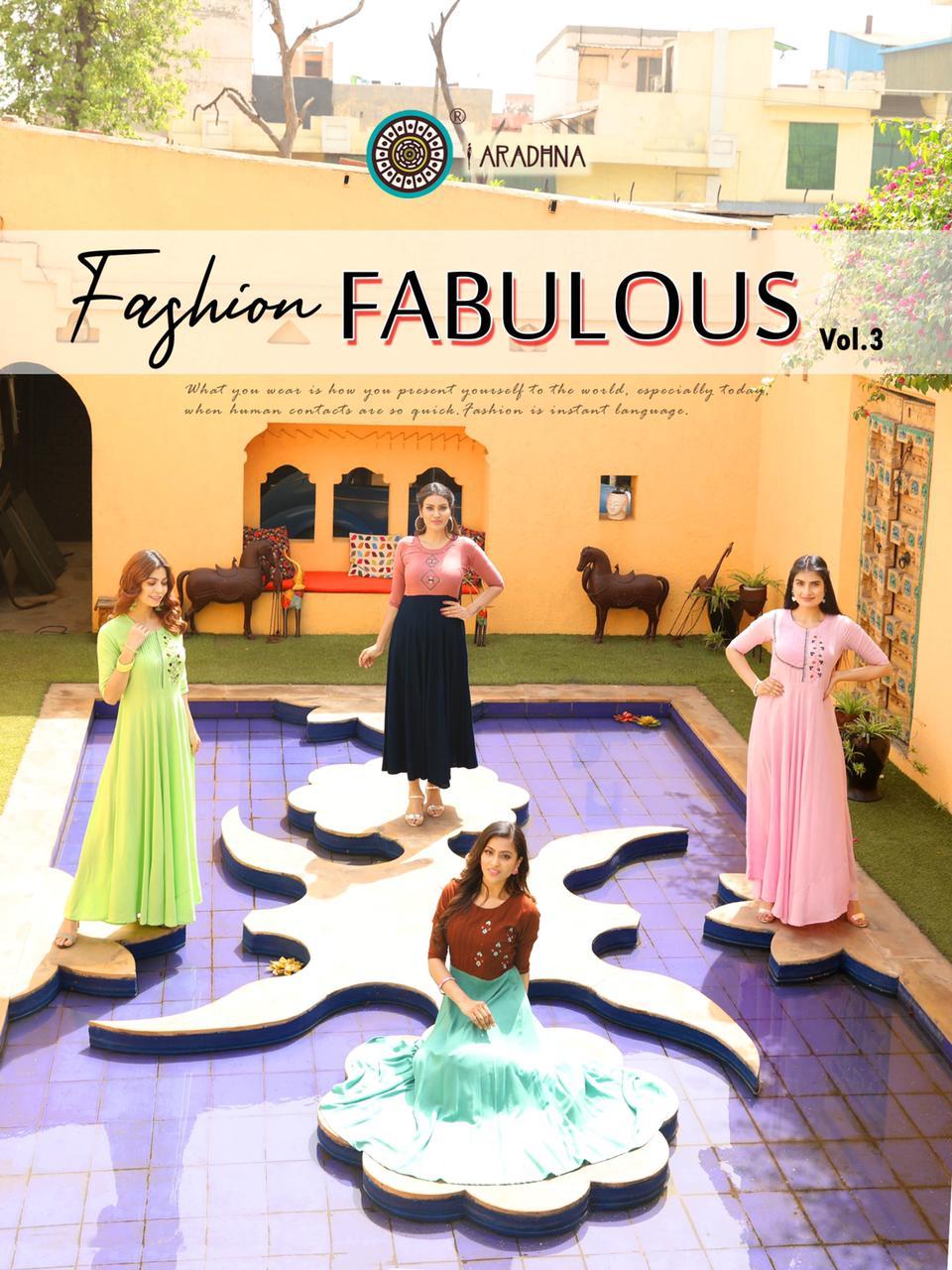 Aradhna Fashion Fabulous Vol 3 Kurti Wholesale Catalog 12 Pcs 2 - Aradhna Fashion Fabulous Vol 3 Kurti Wholesale Catalog 12 Pcs