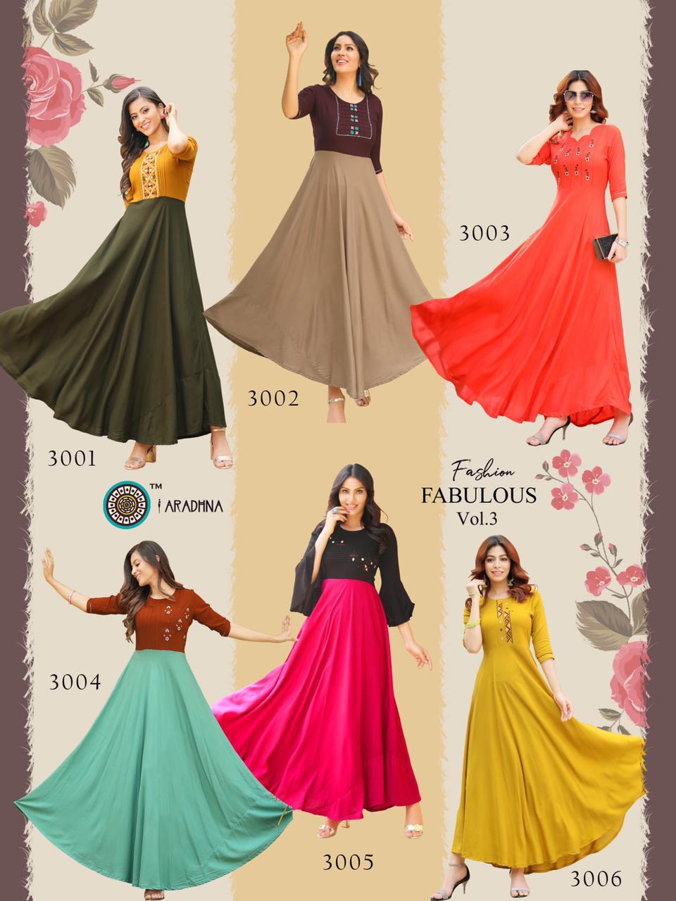 Aradhna Fashion Fabulous Vol 3 Kurti Wholesale Catalog 12 Pcs 20 - Aradhna Fashion Fabulous Vol 3 Kurti Wholesale Catalog 12 Pcs
