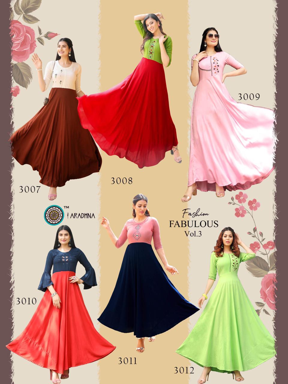Aradhna Fashion Fabulous Vol 3 Kurti Wholesale Catalog 12 Pcs 21 - Aradhna Fashion Fabulous Vol 3 Kurti Wholesale Catalog 12 Pcs
