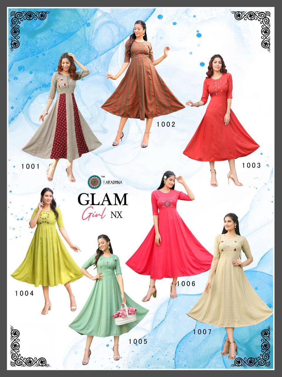 Aradhna Glam Girl Nx Kurti Wholesale Catalog 7 Pcs 13 - Aradhna Glam Girl Nx Kurti Wholesale Catalog 7 Pcs
