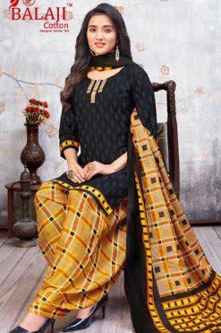 Balaji Cotton Sui Dhaga Readymade Salwar Suit Wholesale Catalog 12 Pcs