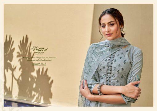 Belliza Wonder Style Salwar Suit Wholesale Catalog 10 Pcs 1 510x361 - Belliza Wonder Style Salwar Suit Wholesale Catalog 10 Pcs
