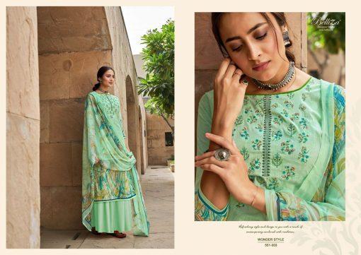 Belliza Wonder Style Salwar Suit Wholesale Catalog 10 Pcs 5 510x361 - Belliza Wonder Style Salwar Suit Wholesale Catalog 10 Pcs