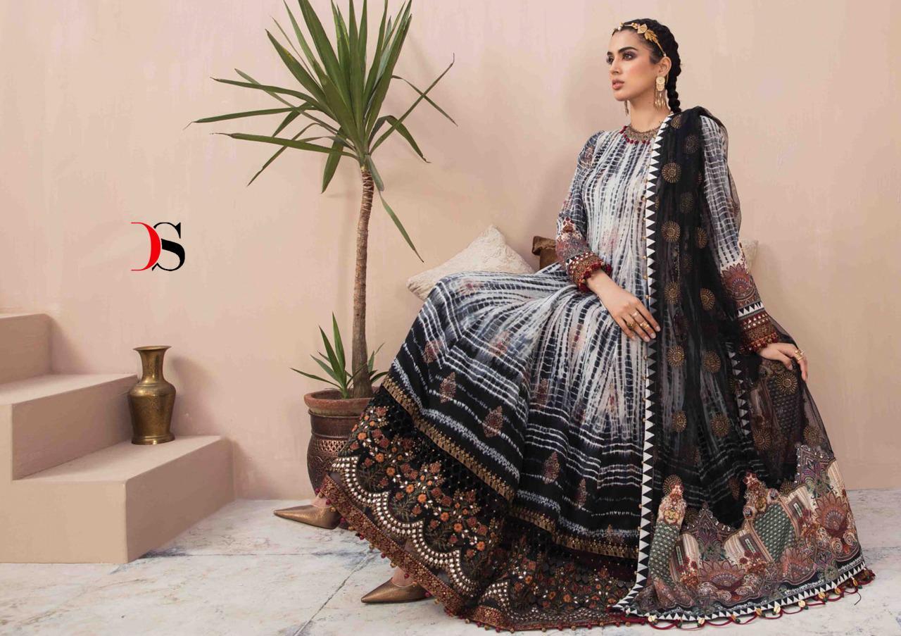 Deepsy Maria B Lawn 21 Vol 3 Salwar Suit Wholesale Catalog 7 Pcs 1 - Deepsy Maria B Lawn 21 Vol 3 Salwar Suit Wholesale Catalog 7 Pcs