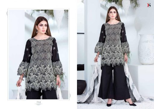 Deepsy Maria B Lawn 21 Vol 3 Salwar Suit Wholesale Catalog 7 Pcs 2 1 510x360 - Deepsy Maria B Black Beauty Salwar Suit Wholesale Catalog 5 Pcs