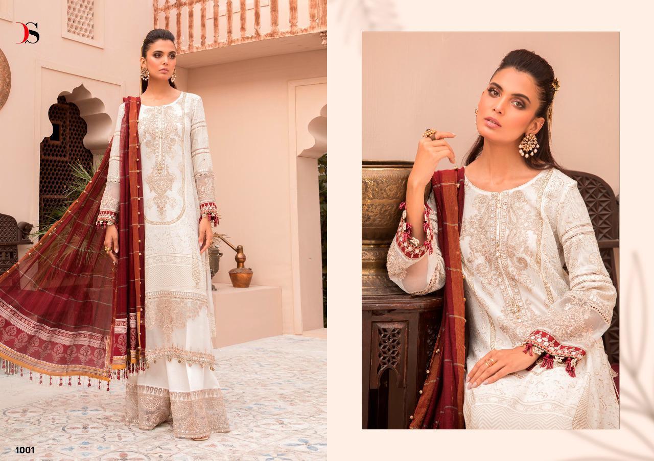 Deepsy Maria B Lawn 21 Vol 3 Salwar Suit Wholesale Catalog 7 Pcs 2 - Deepsy Maria B Lawn 21 Vol 3 Salwar Suit Wholesale Catalog 7 Pcs