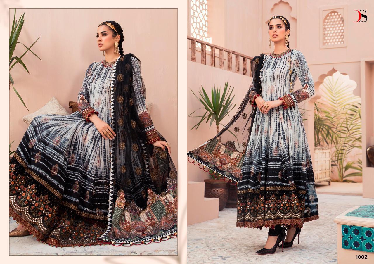 Deepsy Maria B Lawn 21 Vol 3 Salwar Suit Wholesale Catalog 7 Pcs 3 - Deepsy Maria B Lawn 21 Vol 3 Salwar Suit Wholesale Catalog 7 Pcs