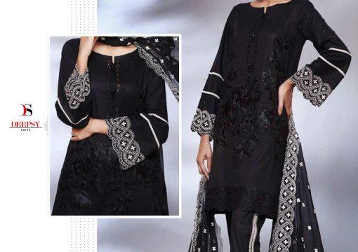 Deepsy Maria B Lawn 21 Vol 3 Salwar Suit Wholesale Catalog 7 Pcs 4 1 510x360 - Deepsy Maria B Black Beauty Salwar Suit Wholesale Catalog 5 Pcs
