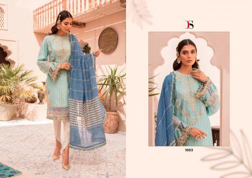 Deepsy Maria B Lawn 21 Vol 3 Salwar Suit Wholesale Catalog 7 Pcs 4 510x360 - Deepsy Maria B Lawn 21 Vol 3 Salwar Suit Wholesale Catalog 7 Pcs